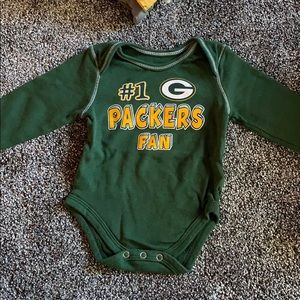Green Bay packers onesie